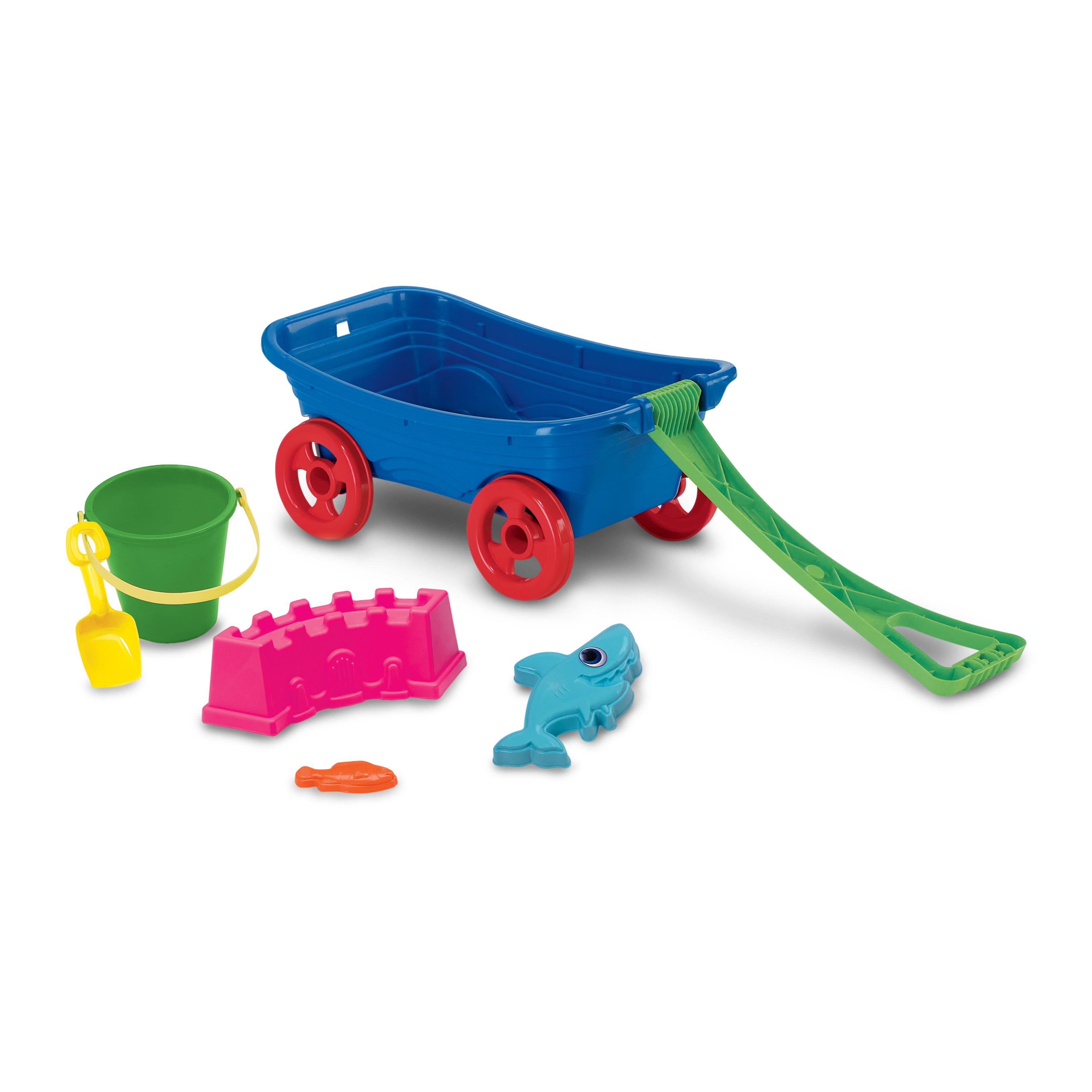 SetAmerican Beachcomber Toys Wagon Plastic Inc n08PwXOk